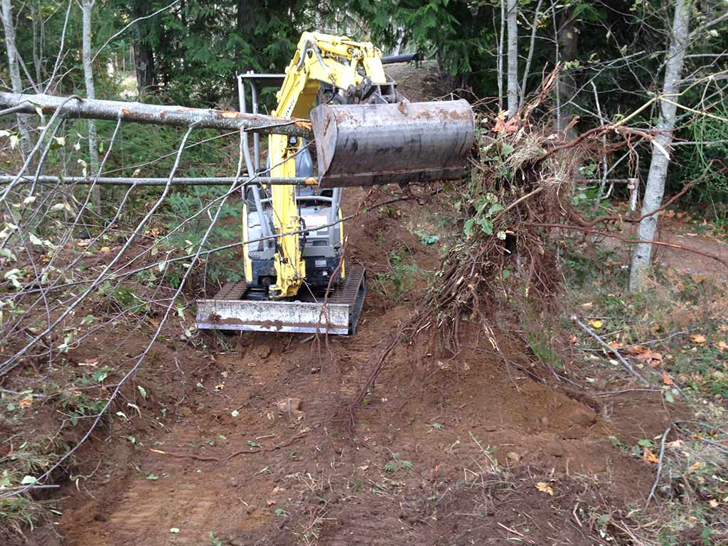 Land Clearing - Level out your property? Dirty Digger