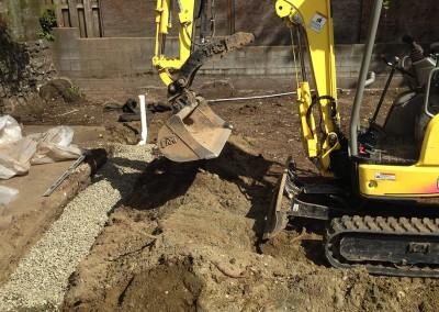 Dirty Digger Contracting drainage services Victoria Duncan Nanaimo BC