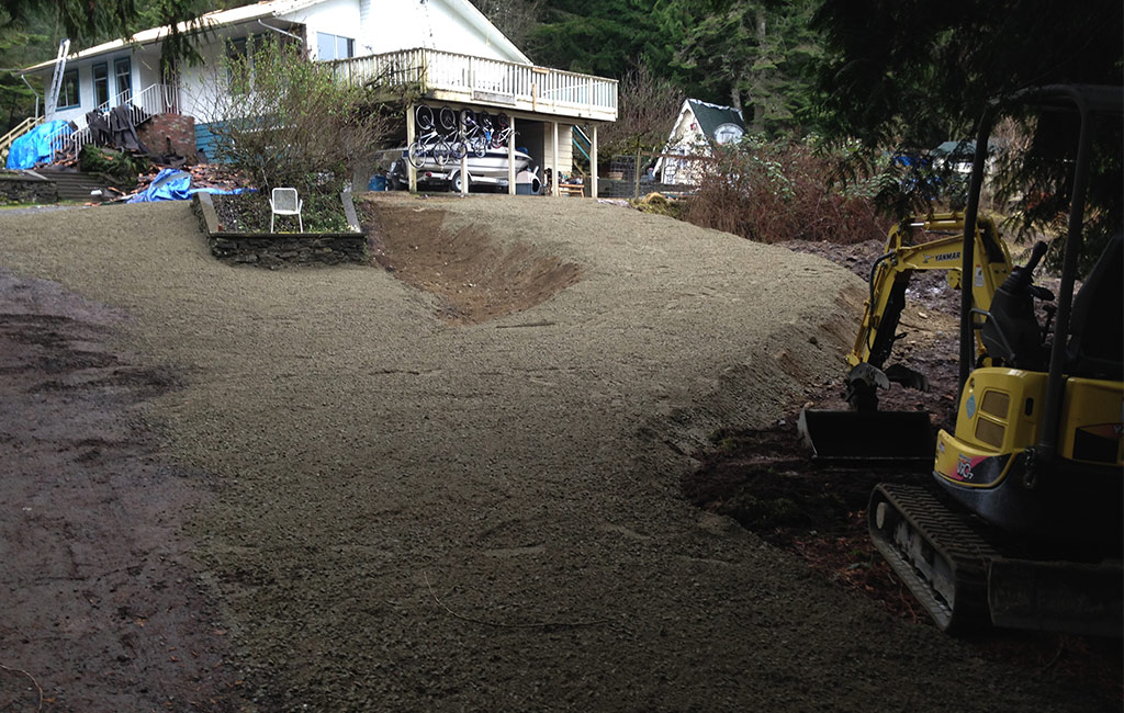 Dirty Digger Contracting Victoria Duncan BC Driveway Services