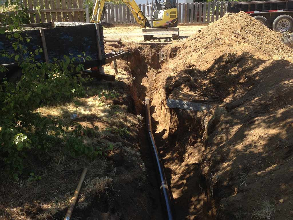Need a sewer line replacement? Dirty Digger Cobble Hill to Nanaimo